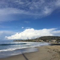 Photo taken at Anita Street Beach by Ian T. on 3/2/2015