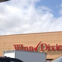 Photo taken at Winn-Dixie by Ian T. on 4/11/2013