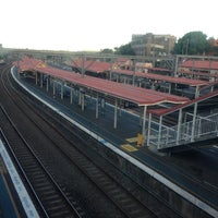 Photo taken at Redfern Station (Concourse) by Yulianto Oen Wheatley &. on 4/24/2013