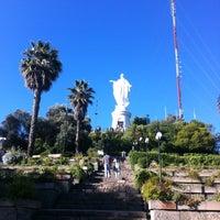 Foto tirada no(a) Virgen Cerro San Cristóbal por Nathalia U. em 12/26/2012