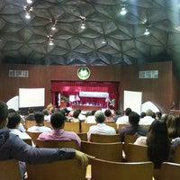 Photo taken at Domo Universitario by Teshi E. on 4/12/2013