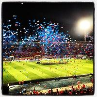 Photo taken at Estadio Nacional Julio Martínez Prádanos by Diego V. on 3/27/2013