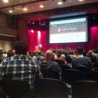 Photo taken at NYU Eisner and Lubin Auditorium by vsync on 10/14/2016