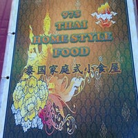 Photo taken at 975 Thai Homestyle Food by Ms.Vivian on 8/1/2013