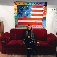 Photo taken at Peter Max Studio by Val L. on 2/4/2017