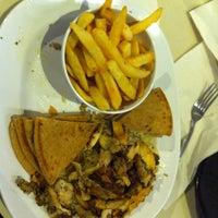 Photo taken at Big Fat Pita by Jyl M. on 11/27/2012