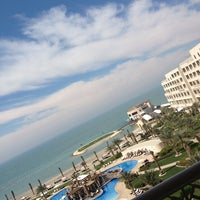 Photo taken at Sofitel Bahrain Zallaq Thalassa Sea & Spa by Hana K. on 2/7/2013
