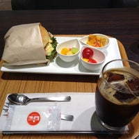 Photo taken at CAFE PASCUCCI 京都三条店 by Chiaki K. on 8/26/2014