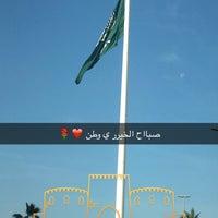 Photo taken at Jeddah Flagpole by Rajji Z. on 2/28/2016