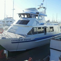 Photo taken at Condor Express Whale Watching by August A. on 12/28/2013