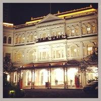 Photo taken at Raffles Hotel by Sergio V. on 2/17/2013