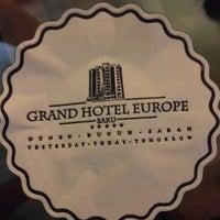 Photo taken at Grand Hotel Europe by Reyhan Restaurant M. on 9/7/2017