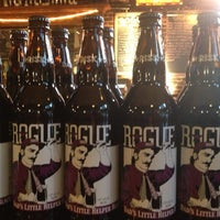 Photo taken at Rogue Ales Public House by Ryan on 5/13/2013