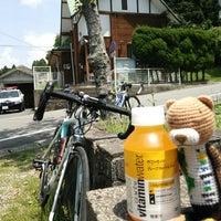 Photo taken at 英彦山 別所駐車場 by カレーパンマン on 5/24/2014
