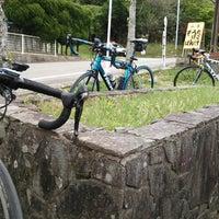 Photo taken at 英彦山 別所駐車場 by カレーパンマン on 5/17/2014