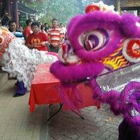 Photo taken at Lahad Datu Guan Yin Temple by SanSanIsTheName on 2/10/2013