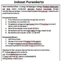 Photo taken at Indosat (Gallery Purwokerto) by bhonyi3t on 2/14/2014