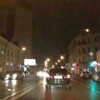 Photo taken at Baumanskaya Street by Anna S. on 4/25/2013