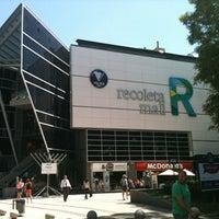 Foto tirada no(a) Recoleta Mall por Gabriela M. em 12/13/2012