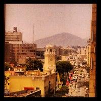 Photo taken at Hotel Estelar Miraflores by TM H. on 1/26/2013