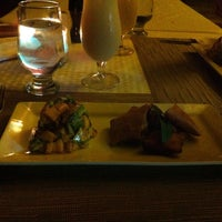 Photo taken at Manta Raya Restaurant by Andrea C. on 6/27/2013