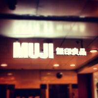 Photo taken at Muji by Jerome Y. on 6/26/2013