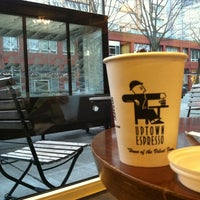 Photo taken at Uptown Espresso by Charlotte S. on 2/11/2013