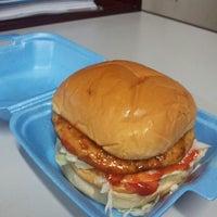 Photo taken at Kedai Burger Abang Bai by Mariam Z. on 10/7/2013