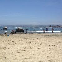 Photo taken at Playa Los Tubos by Felipe C. on 12/31/2012