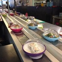Photo taken at YO! Sushi by Adnan T. on 2/8/2017