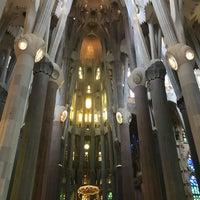 Foto tomada en Cripta de la Sagrada Família por Adnan T. el 7/6/2018
