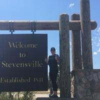 Photo taken at Stevensville, MT by Margaret D. on 7/8/2017