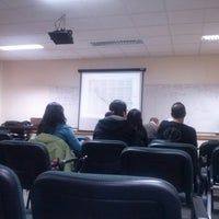 Photo taken at Facultad De Ingenieria - UMAG by Enrique Eduardo A. on 12/18/2012