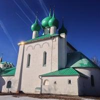 Photo taken at Храм преподобного Сергия Радонежского (Куликово поле) by Аня Г. on 3/13/2014