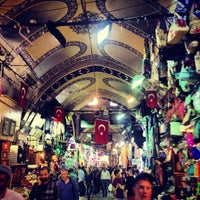 Photo taken at Grand Bazaar by Gokhan on 11/2/2012