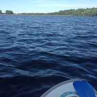 Photo taken at Boating in Boston at Hopkinton State Park by Kathleen B. on 6/15/2014