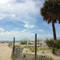 Photo taken at Tybee Curve Beach by Chris S. on 7/8/2013