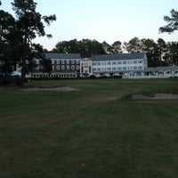 Photo taken at Mid Pines Golf Club by Tim R. on 11/24/2012