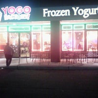 Photo taken at Yogo Factory by Diana B. on 1/19/2013