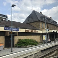 Photo taken at Bahnhof Bad Sobernheim by Michael on 8/16/2017