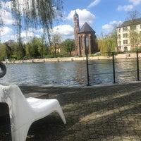 Das Foto wurde bei BrückenCafè am Heineufer von Michael am 4/14/2017 aufgenommen