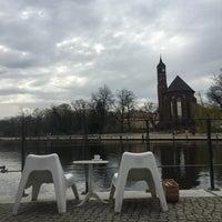 Das Foto wurde bei BrückenCafè am Heineufer von Michael am 4/4/2016 aufgenommen