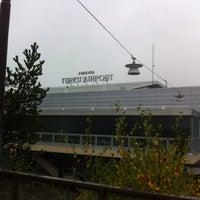 Photo taken at Turku Airport (TKU) by Michael B. on 10/19/2014