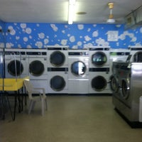 Photo taken at The Fluff Queen Laundromat by Carla C. on 8/15/2013