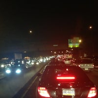 Photo taken at Schuylkill Expressway by Aine D. on 12/3/2012