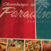 Photo taken at Cheeseburger in Paradise by April S. on 5/4/2013