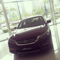 Photo taken at Honda Cars Global City by Corrine Emata | s. on 5/23/2014