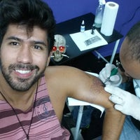Photo taken at Phitus Tatuagem e Piercing by Luís Rogério A. on 11/9/2013