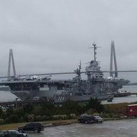 Photo taken at Charleston Harbor Resort & Marina by Jay G. on 11/15/2012