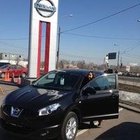 Photo taken at Nissan by Olya B. on 4/13/2013